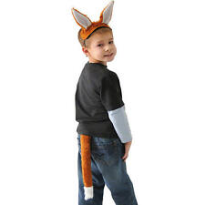 Childrens Fox Fancy Dress Set Outfit Fury Tail & Ears Mr Fox Costume