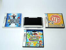 NINTENDO DS + 3 GAMES (including pokemon & warioware) system console handheld