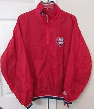 MLB Philadelphia Phillies Half Zip Pullover by Starter Adult Medium Wind Breaker