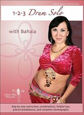 1-2-3 Drum Solo with Bahaia -  Drum Solo Belly Dance Instructional DVD