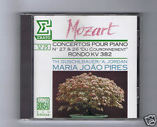 MARIA JOAO PIRES CD ERATO  MOZART CONCERTO 26 & 27/  RONDO/ THEODORE GUSCHLBAUER
