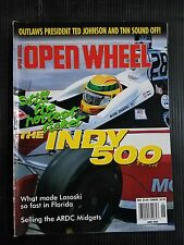 Open Wheel Magazine June 2000 World of Outlaws - Indianapolis 500 - Carl Forberg