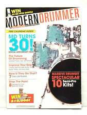 MODERN DRUMMER MAGAZINE 30TH ANNIVERSARY ISSUE IMPROVE YOUR GRIP VERY RARE
