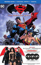 NEW SEALED GRAPHIC NOVEL Batman v Superman: Dawn of Justice (Blu-ray Disc, 2016)