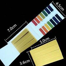 80 Litmus Water 1-14 Testing Alkaline Universal Strips Range Paper Test PH