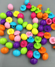 100pcs Mini Umbrella shape Resin buttons Sewing Crafts 10mm
