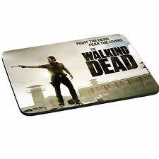 TWD Walking Dead Rick Theme 5mm Thick Rectangle Mouse Mat/Pad