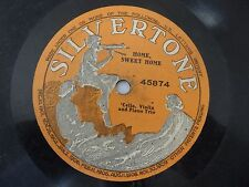Home Sweet Home Cello Violin Piano Trio Silvertone one side 45874