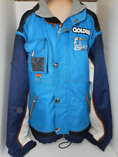 GOLDWIN Mens High Technical Sport Ski Snowboard Racing Jacket Coat Blue 2XX 2XL