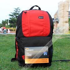 Lowepro Fastpack 350 DSLR Camera Photo Bag Backpack & 17'' Laptop Case (Red)