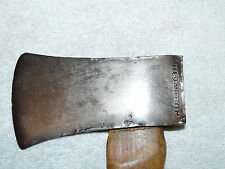 "Vintage Stanley ""M"" Boys 2 Pound Camp Axe w/ Original Handle INV12133"