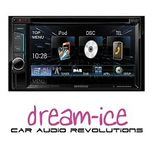 """KENWOOD DDX-4015DAB Double Din stereo with DAB Digital radio 6.2"""" Screen"""
