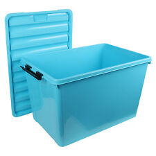 Multipurpose Storage Box with Lid - 60 Litres Storage Box