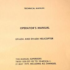 Sikorsky UH-60A and EH-60A Black Hawk Helicopter Operator's Manual