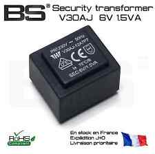 Security CE RoHs molded transformer 6V 1.5VA V30AJ transformateur de sécurité