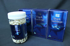 3 x COSTAR Shark Cartilage 750mg 365 Capsules for Joint health Made in Australia