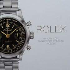 LIVRE/BOOK : ROLEX - HISTOIRE - ICONES & RECORD BREAKING MODELS (montre,watch
