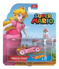 Super Mario Hot Wheels Princess Peach Character Car #4 of 6 2016 Die Cast