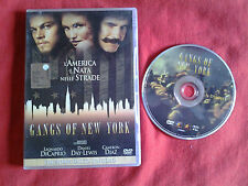 DVD film drammatico GANGS OF NEW YORK  L.Di Caprio, D.Day-Lewis C.Diaz