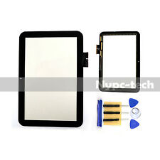 "Touch Screen Digitizer Tablet For 10.1"" Toshiba Excite 10 AT300 AT305 US Black"