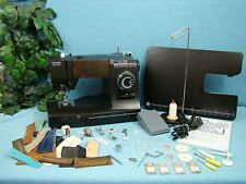 HEAVY DUTY Sewing Machine LOADED $195.00 IN EXTRAS Sews 12 LAYERS OF DENIM WOW!