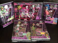 Monster High Dawn of the Dance Complete Collection w dvd Deuce Ghoulia 3 pack +