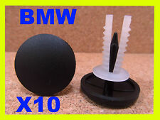 10 Plastic  Push Type Trim Panel Retainer Clips Moulding BMW 97G