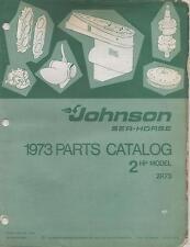 1973 JOHNSON SEA-HORSE OUTBOARD 2 HP P/N 386129 PARTS MANUAL (526)