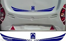 ACE CARAVAN/MOTORHOME 2 PIECE KIT DECALS STICKERS CHOICE OF COLOURS & SIZES