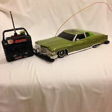 New Bright 1974 Cadillac Snoop Deville 1/10 Scale Hydraulic Lowrider RC CAR