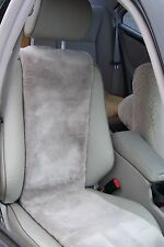 Sheepskin Seat Covers (Inserts)-High Quality-Black- ONE PIECE