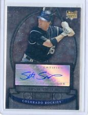 2008 BOWMAN STERLING CARD NO.BS-SS SETH SMITH AUTOGRAPH ROOKIE RC, ROCKIES
