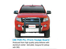 FRONT GRILLE NUDGE GUARD PROTECTOR BUMPER FOR FORD RANGER T6 4X4 WILDTRAK 12-15