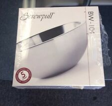SCREWPULL BY LE CREUSET BW-104 STAINLESS STEEL BOWL NEW IN BOX