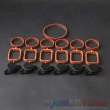 BMW swirl flap blanks 6 pcs 22 mm manifold gaskets diesel Viton BIMMERTUNE