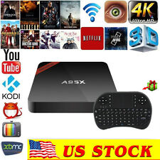 NEXBOX A95X S905X FULLY LOADED Kodi 4K 2GB+16GB Quad  Android 6.0TV Box+keyboard