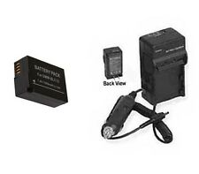 BP-DC12 BP-DC12E BP-DC12U Battery + Charger for Leica V-LUX4 & Q Typ116 Digital