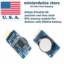 DS3231 IIC precision Real time clock RTC memory module with CR2032 battery