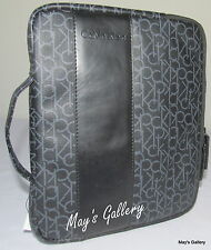 Calvin Klein CK Briefcase Handbag Purse Laptop Case Ipad Tablet  Sleeve Bag NWT