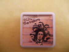 BOB MARLEY BURNIN' ALBUM COVER    BADGE PIN