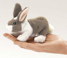 MINI BUNNY RABBIT Finger Puppet 2727 ~ FREE SHIPPING in USA ~ Folkmanis Puppets