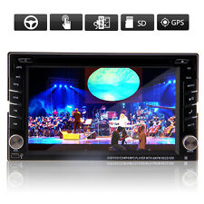 "6.2"" DVD Reproductor Radio FM Bluetooth para Coche TV GPS Navi Win8 iPod 3D SWC"