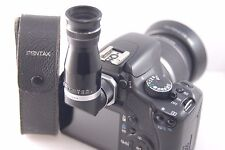Asahi PENTAX Right Angle Viewfinder. Also fits Canon 450D etc. DSLR Leather Case