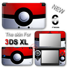 Pokemon Pokeball Amazing Pikachu SKIN DECAL STICKER COVER #1 for Nintendo 3DS XL