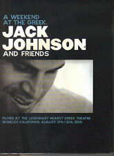 JACK JOHNSON A Weekend At The Greek / Live In Japan - Double DVD Reg 2-6