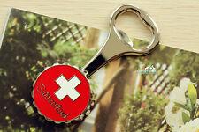 Schweiz Reiseandenken Reise Souvenir 3D Metall Kühlschrank Magnet Flaschenöffner