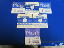 1948 THE CHRISTMAS STORY 3 VIEW-MASTER REELS-SLEEVES & BOOKLETS #XM-1/2/3