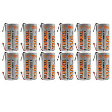 12PCS Sub C 1.2V Ni-MH Rechargeable Battery Tabs Power Tools RC Pack UltraCell