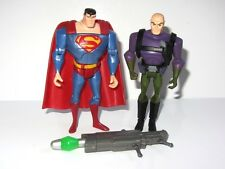 Superman Juguete Figura conjunto Superman Vs Lex Luthor con Kryptonita lanzador de misiles