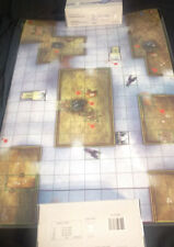 HEROCLIX/HORRORCLIX - LAMINATED MAP - WHALING STATION